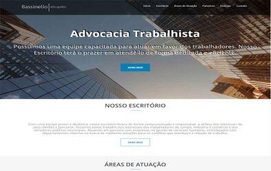 Criação de Sites para Advogados