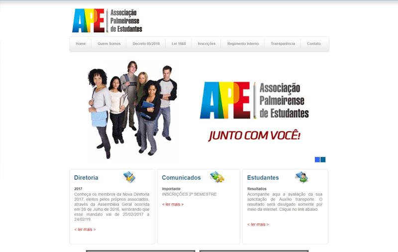 Criação de Sites para Instituição
